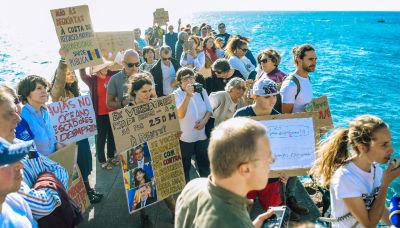 Manifestação: Parabéns à Plataforma Azia pela Mobilização