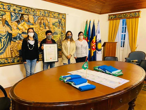Bandeira Verde Eco-Escolas na Ponta do Sol