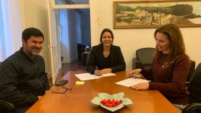 Assinatura Protocolos: Animação Cultural e Desporto