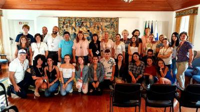 Receção aos Erasmus + | Salão Nobre