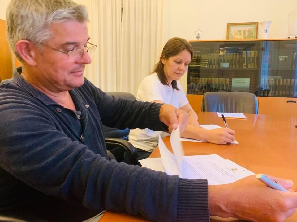 Assinatura de contrato interadministrativo com a Junta da Ponta do Sol