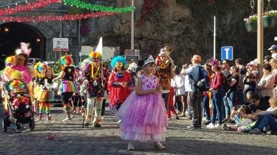 Desfile de Carnaval na Ponta do Sol