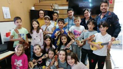 Mais 8 braguinhas entregues | EB1/PE/Creche da Ponta do Sol