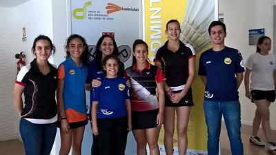 Badminton: Atletas da AD Pontassolense premiadas