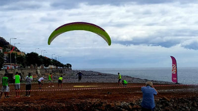 Pre Worldcup in accuracy landing on the island of Madeira