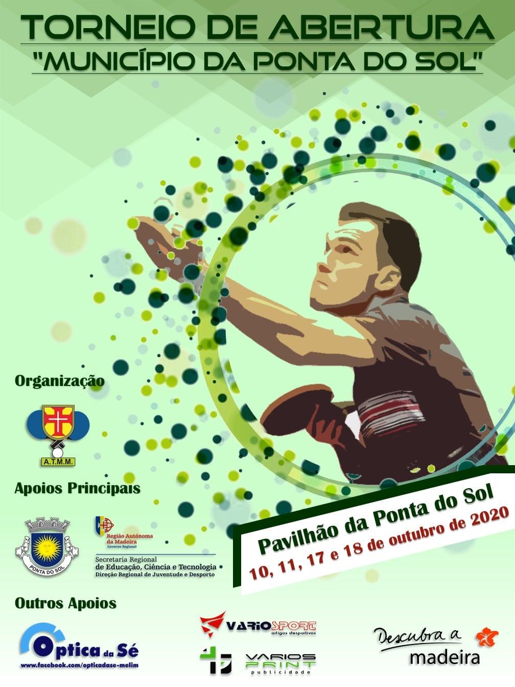 Torneio de Abertura | Município da Ponta do Sol