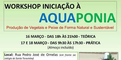 Workshop Iniciação à AQUAPONIA