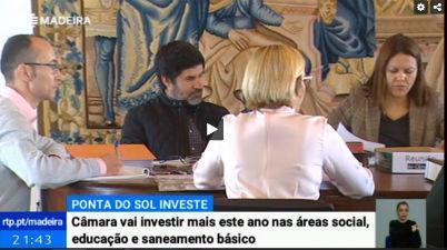 Ponta do Sol reforça verbas para educação e área social