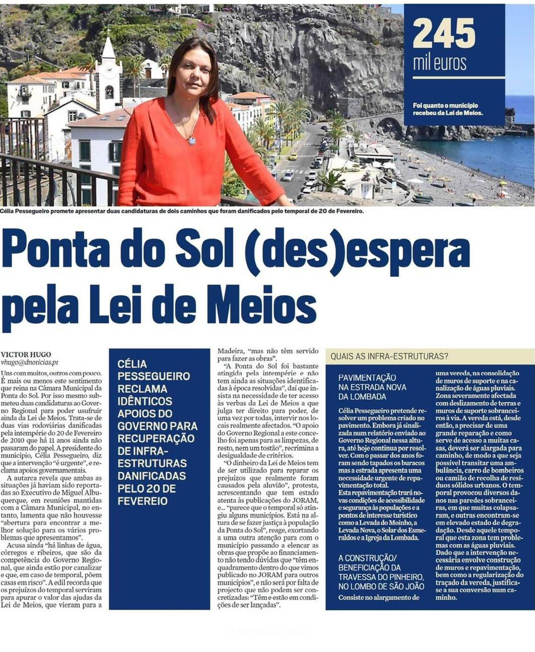 Lei de Meios tarda em chegar à Ponta do Sol