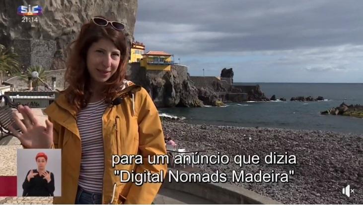 Reportagem dos Nómadas Digitais na Ponta do Sol | SIC