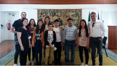 Receção aos alunos Erasmus +