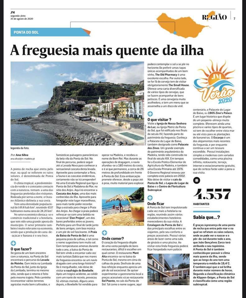 Conheça a freguesia mais quente da Ilha da Madeira....