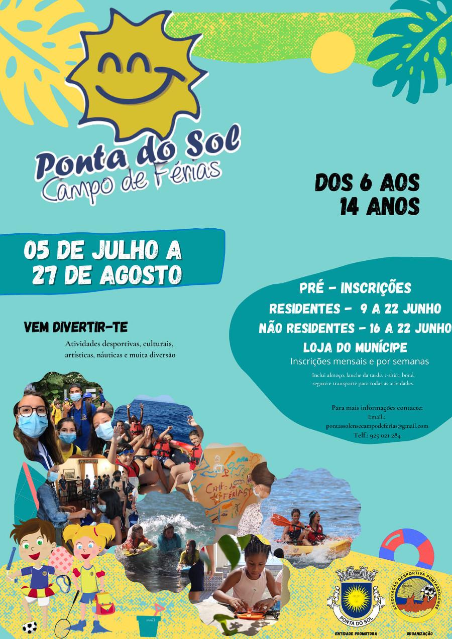 CAMPO DE FÉRIAS 2021 | Ponta do Sol