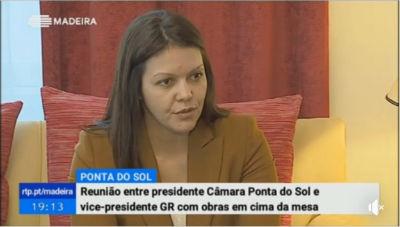Reunião com o Governo | estrada de ligação do caminho de Santo António