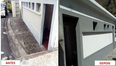 Obras de reconstrução das instalações sanitárias da freguesia da Madalena do Mar