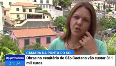 Obras no cemitério de São Caetano | Ponta do Sol investe