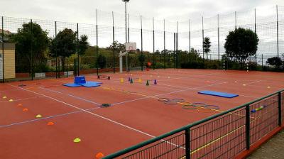 Inauguração do Polidesportivo da Escola do Carvalhal