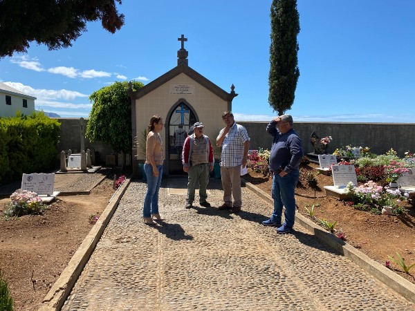 Obras de requalificação no Cemitério Santo Amaro