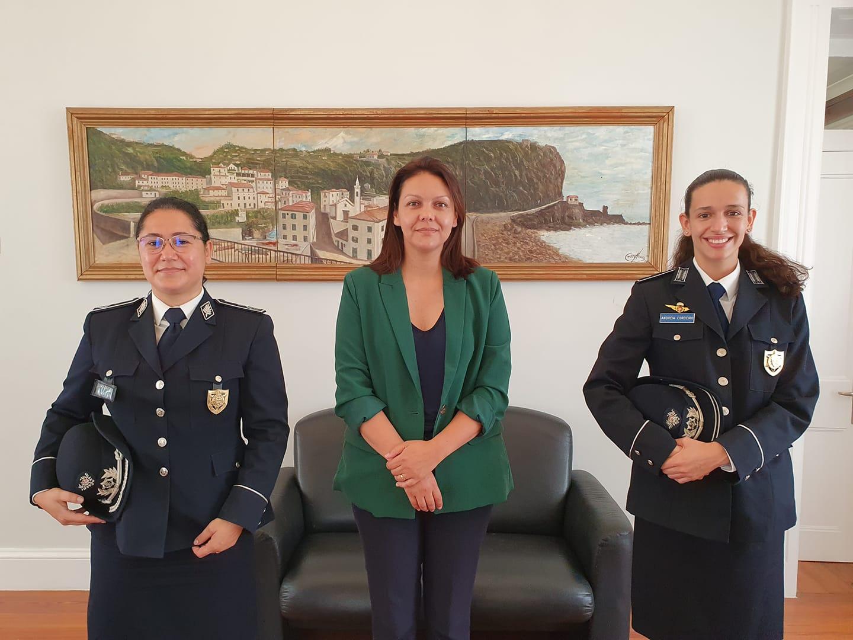 Receção à nova Comandante da PSP Ponta do Sol