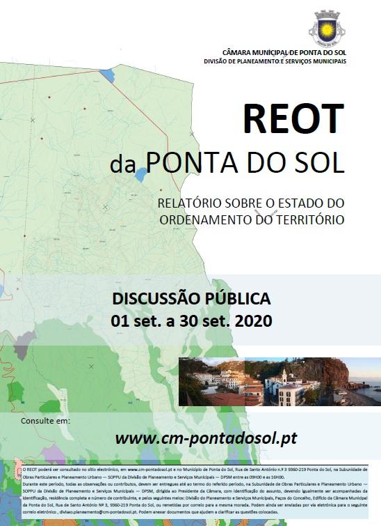 Relatório sobre o Estado do Ordenamento do Território (REOT) da Ponta do Sol